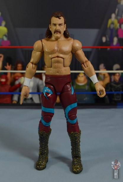 wwe legends 8 jake the snake roberts figure review - front
