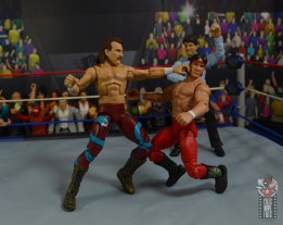 wwe legends 8 jake the snake roberts figure review - punching ricky steamboat