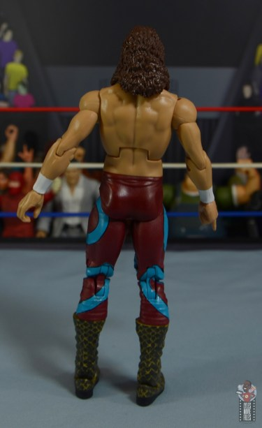 wwe legends 8 jake the snake roberts figure review - rear
