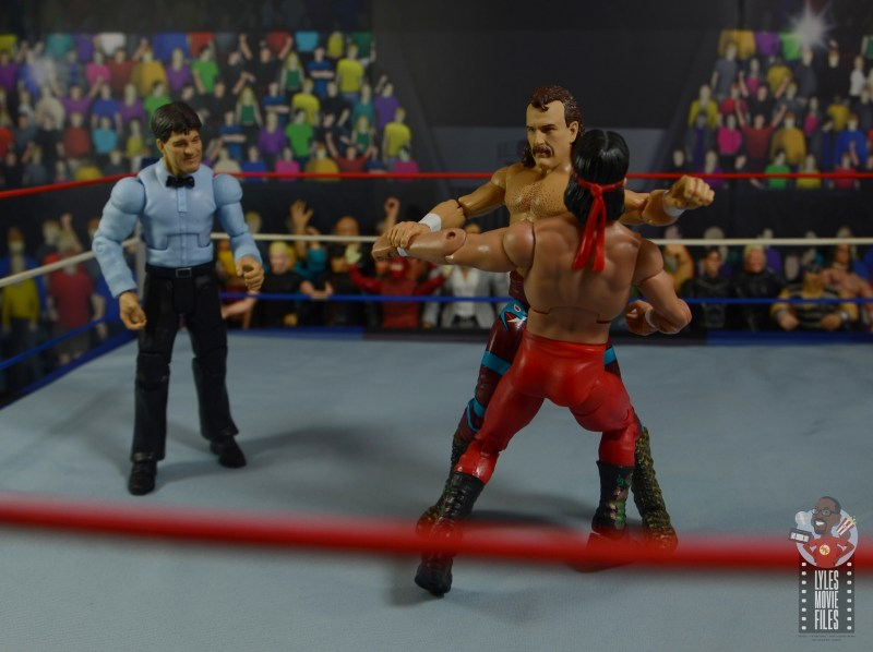 wwe legends 8 jake the snake roberts figure review - short arm clothesline to the dragon
