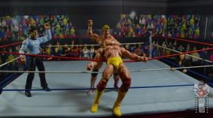 wwe legends series 8 paul orndorff figure review - forearm smash to hogan