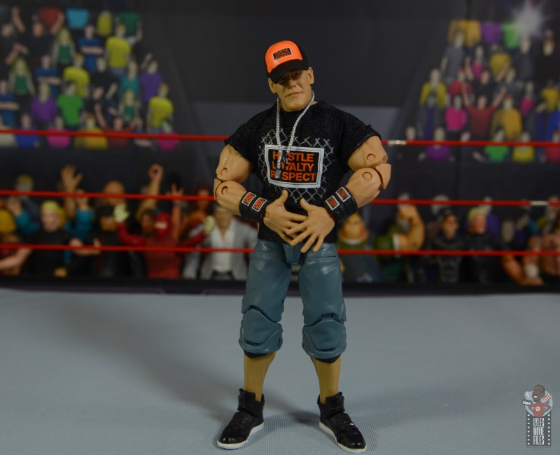 wwe ultimate edition john cena figure review - geared up