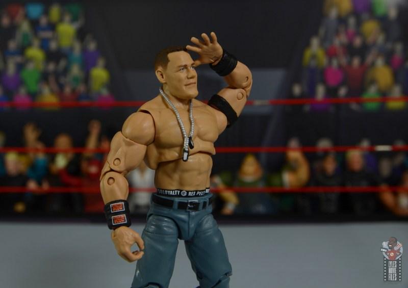 wwe ultimate edition john cena figure review - saluting fans