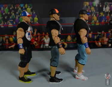 wwe ultimate edition john cena figure review - sides of john cena figures