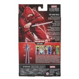 MARVEL LEGENDS SERIES SPIDER-MAN 6-INCH THE HAND NINJA Figure - pckging