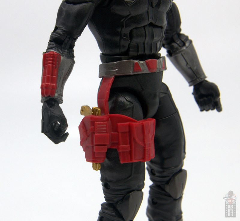 gi joe classified series destro figure review -holster detail