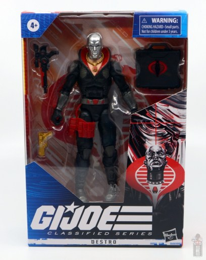 gi joe classified series destro figure review -package front
