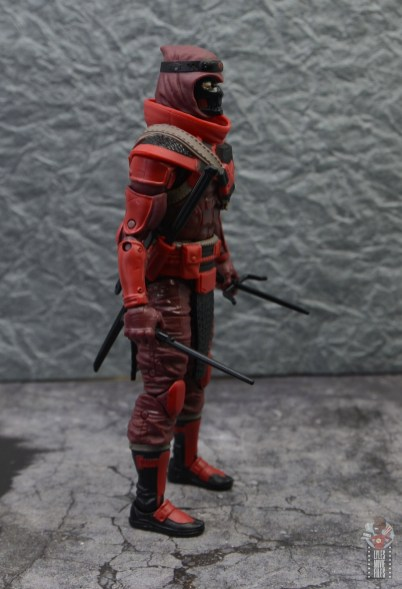 gi joe classified series red ninja figure review - right side