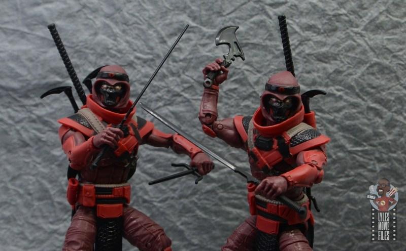 gi joe classified series red ninja figure review - wide shot