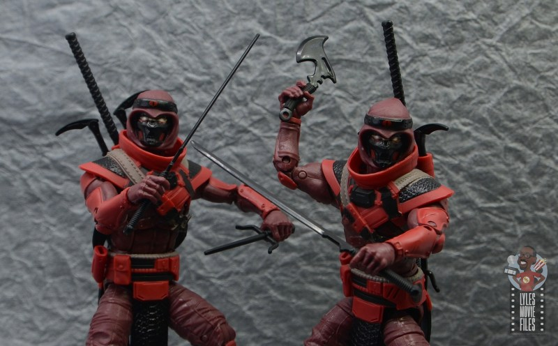 gi joe classified series red ninja figure review - wide shot