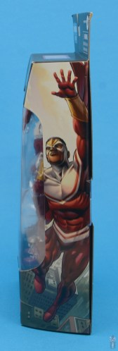marvel legends falcon figure review -package side