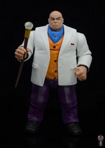 marvel legends retro kingpin figure review -front