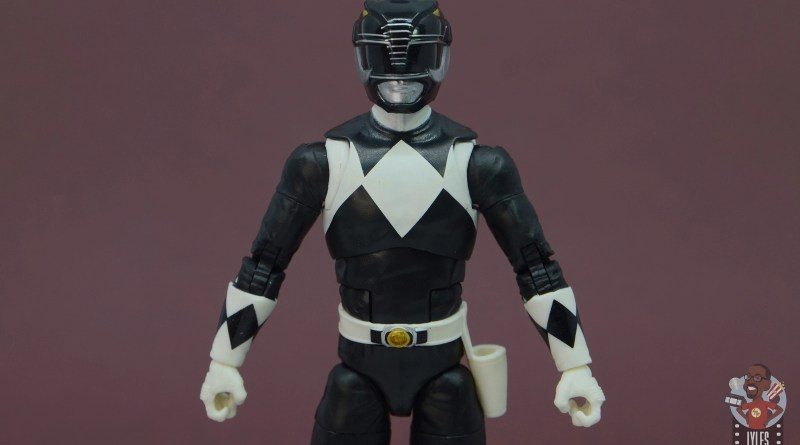 power rangers lightning collection black ranger figure review - main pic
