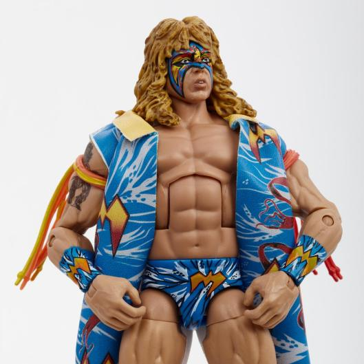 ringside fest 2020 - ringside exclusive wrestlemania 12 ultimate warrior -close up