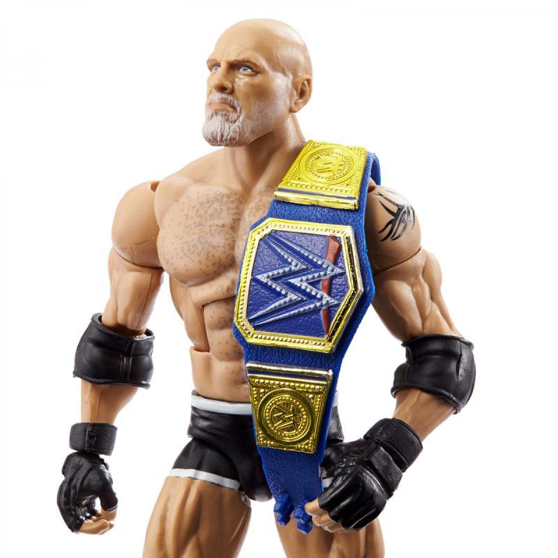 ringside fest 2020 - wrestlemania elite collection - goldberg close up