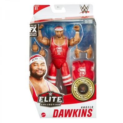 ringside fest 2020 - wwe elite 81 - angelo dawkins front packaging