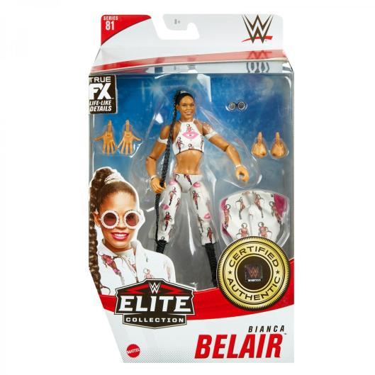 ringside fest 2020 - wwe elite 81 - bianca belair - front packaging