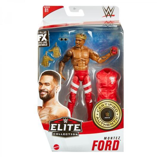 ringside fest 2020 - wwe elite 81 - motez ford - front packaging