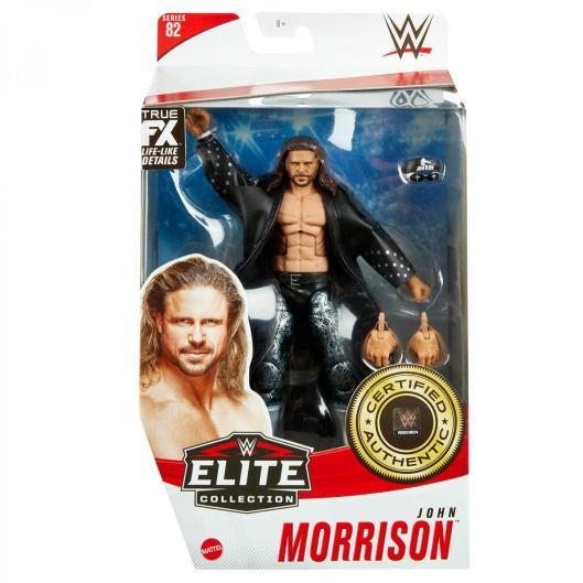 ringside fest 2020 - wwe elite 82 - john morrison -front package