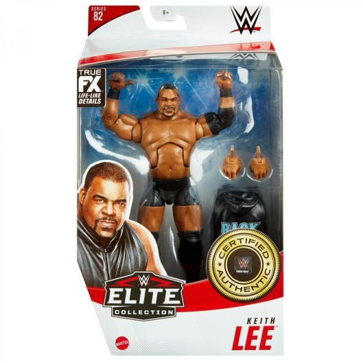 ringside fest 2020 - wwe elite 82 - keith lee - front packaging