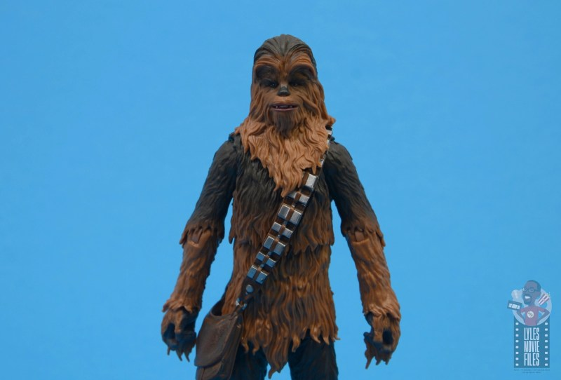star wars the black series chewbacca and c-3p0 figure set review - chewbacca detail
