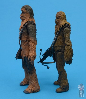 star wars the black series chewbacca and c-3p0 figure set review - facing sh figuarts chewbacca