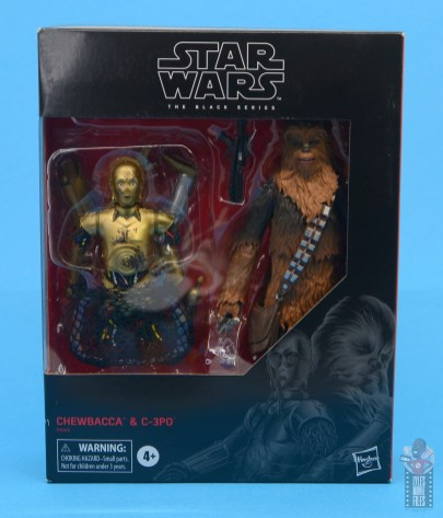 star wars the black series chewbacca and c-3p0 figure set review -package front