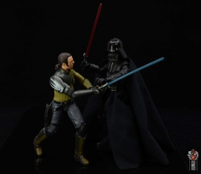 star wars the black series kanan jarrus figure review - getting caught by darth vader