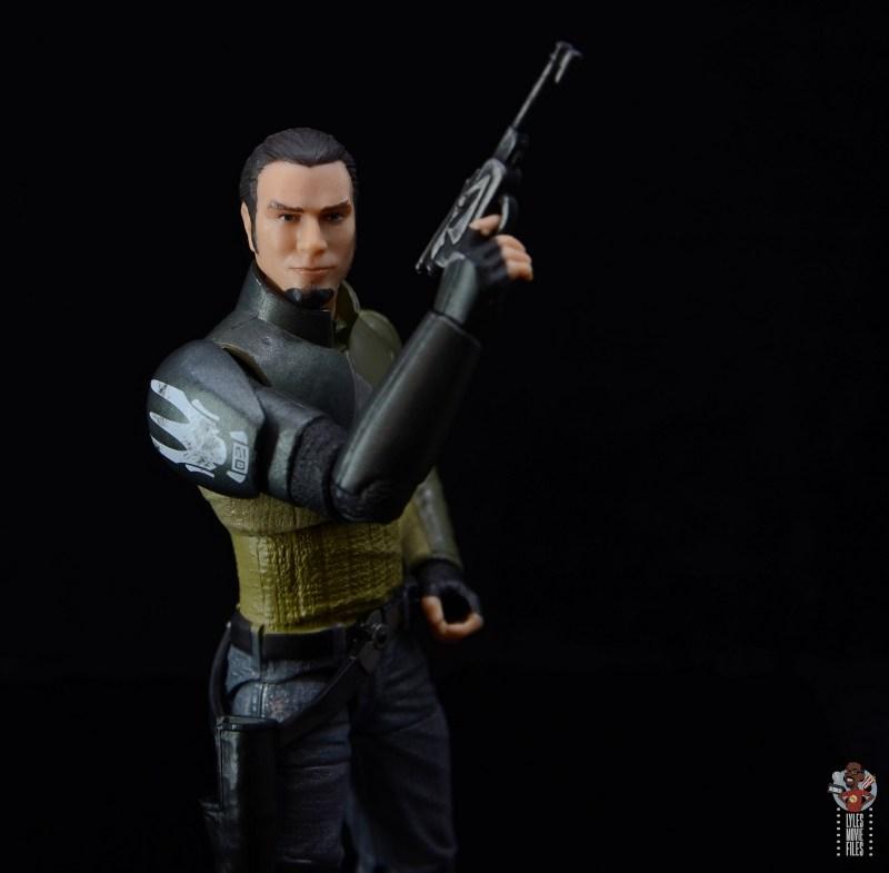 star wars the black series kanan jarrus figure review - raising blaster