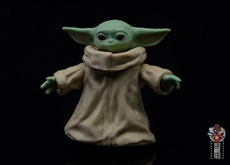 star wars the black series the child figure review -paint job pic