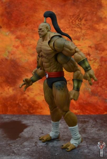 storm collectibles mortal kombat goro figure review - left side
