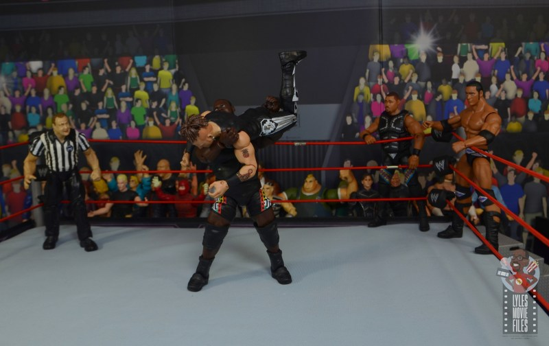 wwe decade of destruction mark henry figure review - body slam to road dogg