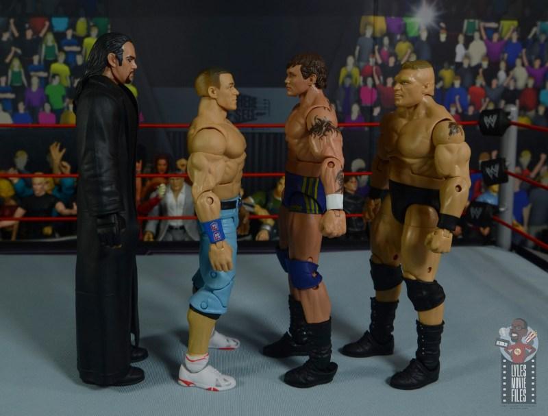 wwe decade of domination randy orton figure review - facing undertaker, john cena and brock lesnar