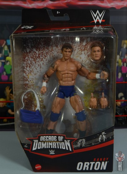 wwe decade of domination randy orton figure review - package front