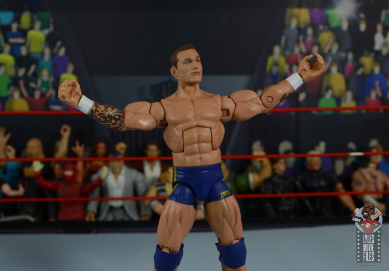 wwe decade of domination randy orton figure review - taunt pose