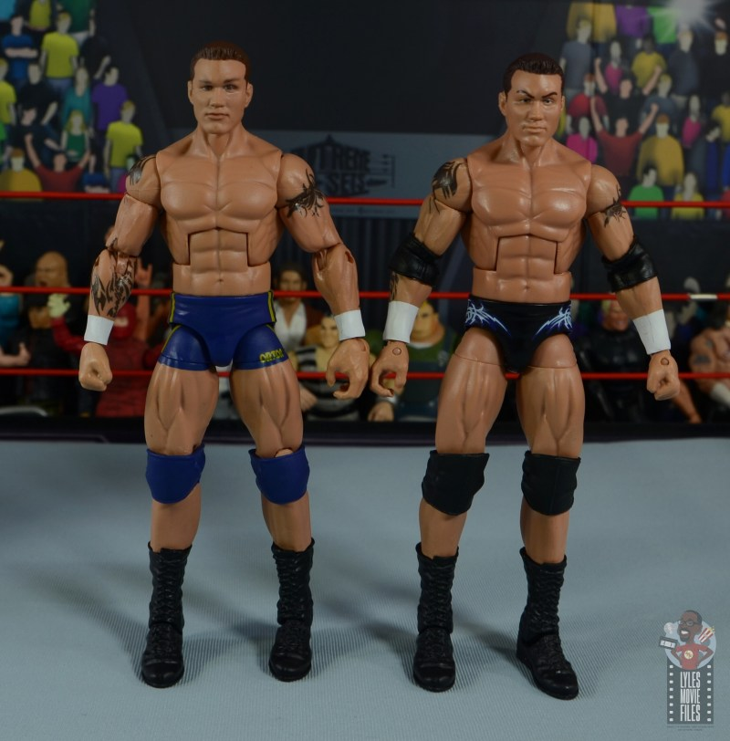 wwe decade of domination randy orton figure review - with flashback randy orton