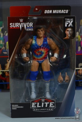 wwe elite don muraco figure review - package front