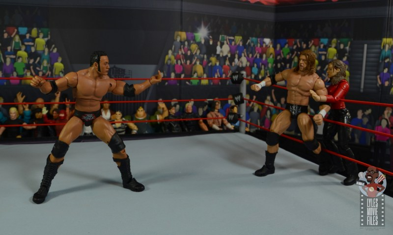 wwe ultimate edition the rock figure review - just bring it triple h