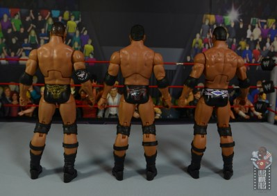 wwe ultimate edition the rock figure review - rear nation rock and invasion rock