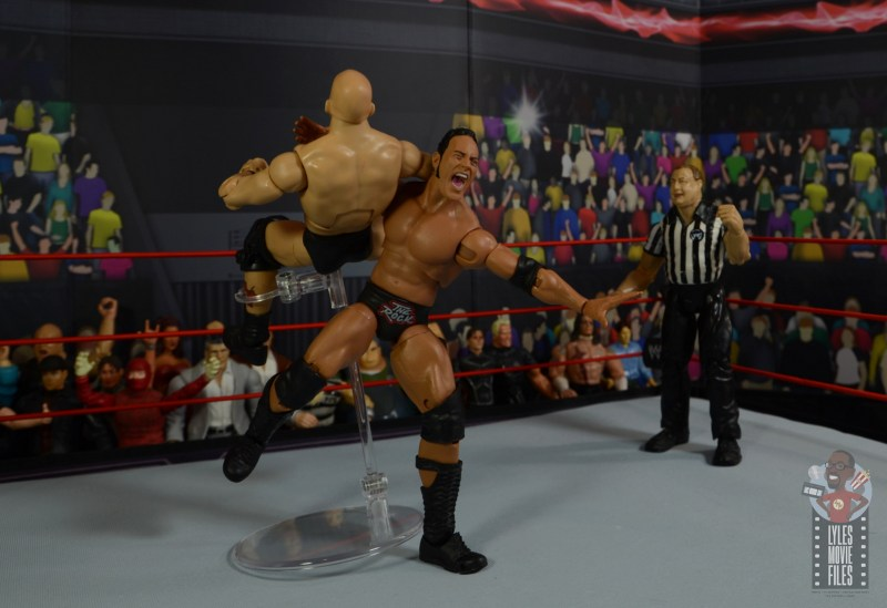 wwe ultimate edition the rock figure review -rock bottom to stone cold