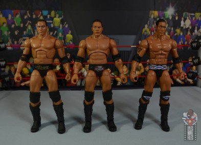 wwe ultimate edition the rock figure review - with nation rock and invasion rock