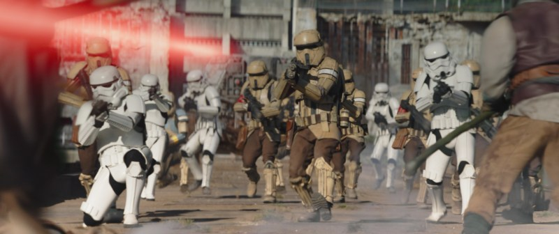 The mandalorian - the believer - Stormtroopers and shore troopers