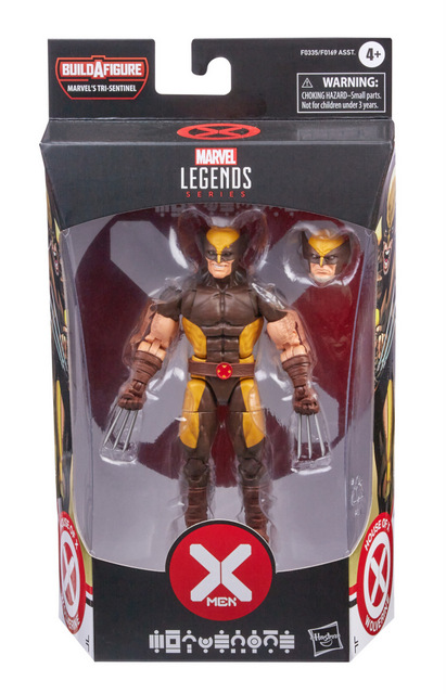 MARVEL LEGENDS SERIES 6-INCH X-MEN HOUSE OF X POWERS OF X Figure Assortment - Wolverine (in pck)