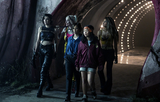 birds of prey and the fantabulous emancipation of one harley quinn review -huntress, harley, montoya, cassandra and black canary