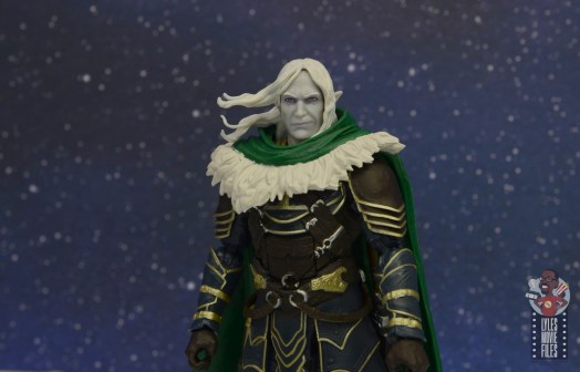 dungeons and dragons drizzt and guenhwyvar figure review - flowing hair, calm head option