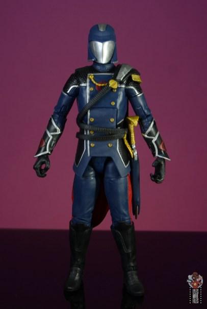 gi joe classified series cobra commander figure review - front