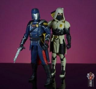 gi joe classified series cobra commander figure review - with storm shadow