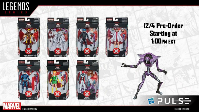 hasbro fan first friday -marvel legends house of x wave