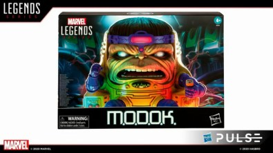 hasbro fan first friday -marvel legends modok package front