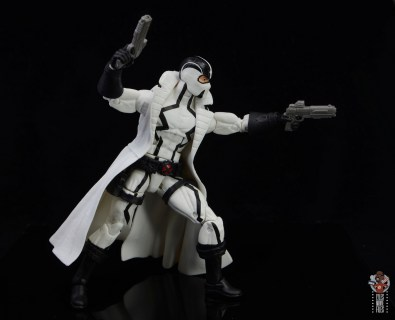 marvel legends nimrod, fantomex and psylocke figure review - fantomex aiming